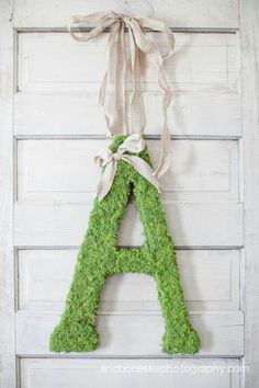 Moss covered initial...