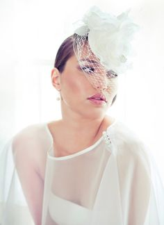 Eternal Love Birdcage Veil - Kristi Bonnici - #BridalHeadpiece
