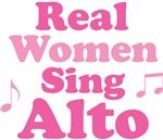 Real women sing alto