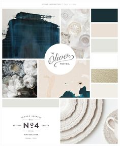Luxe Events Brand launch - Design by Salted Ink | Mood Board | Follow this link for image sources and credits