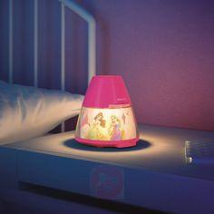 Proyector y lámpara nocturna de Princesa con LED, Ref.: 7531545 en la tienda de Lampara.es