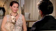 "Ashley Judd, opens up about dealing with her depression, her registered ""psychological support"" dog named Shug at her side."