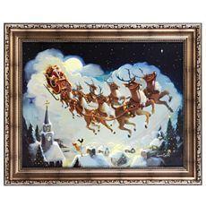 night before christmas framed art print at kirklands