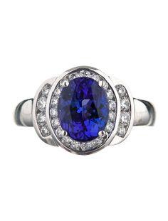 Tanzanite and Diamond Ring - Womens Fine Jewelry - FJR10342 | The RealReal