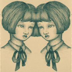 Mirrored - Sketchbook - Emma Hampton
