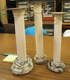 hahahah! colunas gregas muito mais baratas para sua casa!