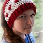 Love is Cold Ear Warmer - free #crochet pattern in 2 sizes on Moogly!