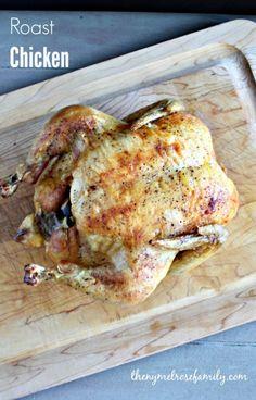 Roast Chicken www.thenymelrosefamily.com #chicken #roast