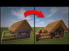 Minecraft: How To Remodel A Village Butcher s Shop YouTube Minecraft house designs Minecraft projects Minecraft designs