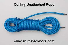 Coiling Unattached Rope | How to Coil Unattached Rope | Rope Care Knots