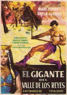 Rare Spanish poster for Son of Samson