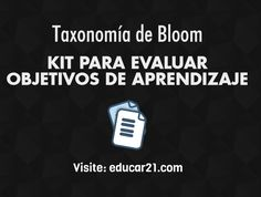 Kit para Evaluar Objetivos de Aprendizaje | #Educación