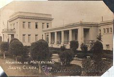 TARJETA POSTAL FOTOGRÁFICA HOSPITAL DE MATERNIDAD SANTA CLARA, CUBA (Postales - Postales Extranjero - América - Cuba)