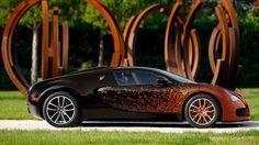 """Bugatti Veyron Grand Sport Esemplare """"artistico"""" firmato Bernard Venet - Gallery - Quattroruote"""