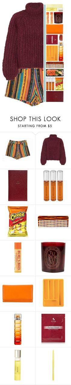 """""""Monday."""" by pineapples-2 ❤ liked on Polyvore featuring Chloé, Smythson, By Terry, Mason Pearson, Burt's Bees, Diptyque, Guzzini, HUGO, 3LAB and UKA"""