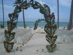 Wedding on the beach : Carribean