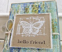 Dry Embossed / Painted Backgrounds