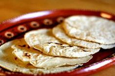 I couldn't find natural tortillas anywhere so I decided to make my own. It's super easy and so fresh and yummy.