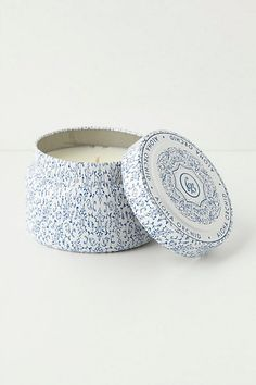 Capri Blue Candle Tin anthropologie! Aloha Orchid is Amazing!! I got many many hours just with this small tin