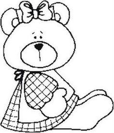 Girl Bear  -  RISCOS DE URSINHOS - Silvia - Picasa Web Albums