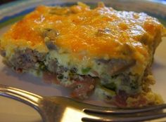 Low Carb Breakfast Bake Recipe | Just A Pinch Recipes