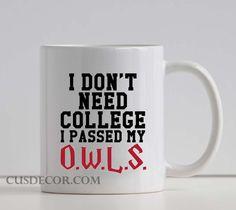 I Don't Need College cute Ceramic mugs