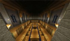 For fun: 10 beautiful libraries built in Minecraft