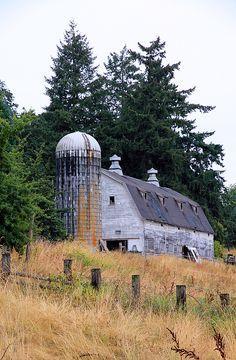 Old Barn In Field by Athena McKinzie https://fineartamerica.com/featured/old-barn-in-field-athena-mckinzie.html