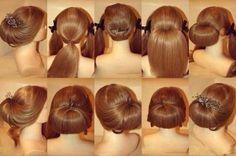 Peinado facil y elegante by marla