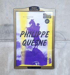 """""""Philippe Quesne"""" - Nanterre-Amandiers Design Graphique : Frédéric Teschner Studio - Paris, 2016"""