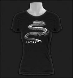 Women's Queens of The Stone Age Shirt - Girls Kyuss T Shirts - Ladies QOTSA Tee