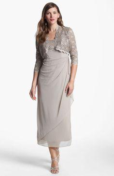 Alex Evenings Ruched Dress Bolero (Petite) Item Comes in Champagne Wedding Attire, Wedding Dresses, Alex Evenings, Mob Dresses, Groom Dress, Ruched Dress, Nordstrom Dresses, Champagne, Knot