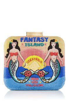 Le Carre Fantasy Island Clutch by SARAH'S BAG