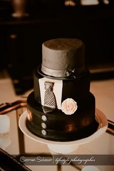 tuxedo cake!