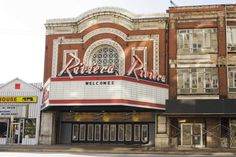 Riviera Theatre on North Racine Ave. in Uptown, completed in 1917 by architects George and C.W. Rapp (Rapp & Rapp) (Chicago Pin of the Day, 3/19/2017).
