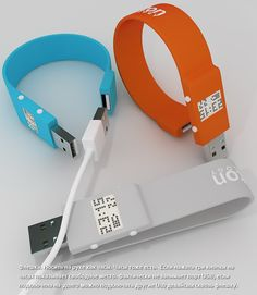 USB Flash Drive Wrist Band Watch - never has there been a cooler transformer