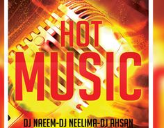 "Check out my @Behance project: ""Hot Music Flyer"" https://www.behance.net/gallery/14361057/Hot-Music-Flyer"