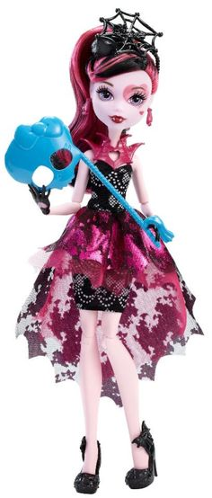 b598ed5363 Monster High Welcome To Monster High Dance The Fright Away Draculaura Doll
