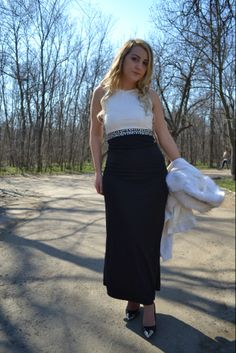 Waist Skirt, High Waisted Skirt, Ootd, Touch, Spring, Skirts, Outfits, Dresses, Fashion