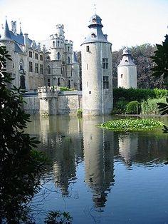 Belgium-Borrekens Castle was built around 1270.      Repinned