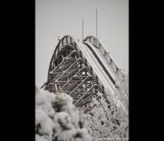 Nara Dreamland in the Snow (Aska Rollercoaster)