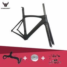 Brand THRUST 2017 Carbon Road Bike Frames Racing Bike Frame Super Light Carbon Road Frame PF30 Cycling Frameset #Affiliate