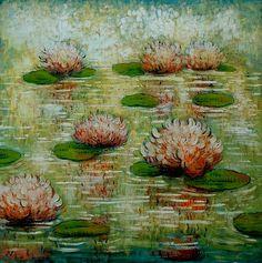 Artist Mark Briscoe, original impressionist landscapes, expressionist paintings..,, photo calmreflection.jpg