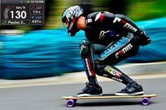 World Record Downhill Skateboard Run