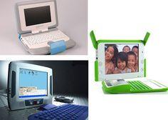 Modelos de laptops educacionais doados ao MEC por empresas desenvolvedoras dos equipos, que foram utilizados em cinco escolas públicas experimentos (RS/SP/RJ/TO/DF) da Fase I - Pre-projeto (Experimentos) envolvendo pesquisa: XO (OLPC); ClassMate (Intel); Mobilis (Encore)