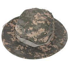 Outdoor Camping Hiking Cap Camouflage Men Jungle Bush Hat Hunting