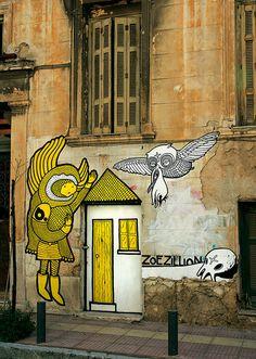 Street Artist b. in Athens, Greece visit dopewriter.com to buy personal graffiti via paypal