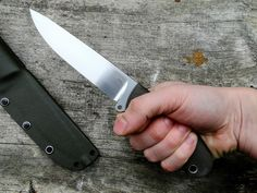 I just finished this one. It's an outdoor/survival/military fixed blade. First twin from the project started on the begining of this year( F...