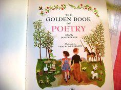 The Big Golden Book of Poetry 85 Childhood by ArtandBookShop, $10.00