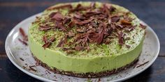 Try this Avocado and Lime Cheesecake recipe by Chef Jasmine and Melissa Hemsley . This recipe is from the show Hemsley + Hemsley - Healthy & Delicious.